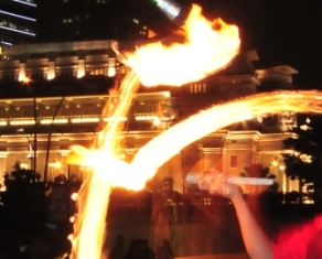 Fire Juggling | Jimmy Juggler | Singapore