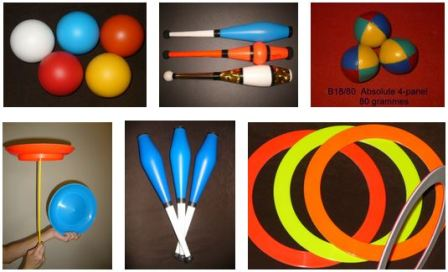 Buy juggling props to juggle