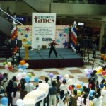 Stage Show by JimmyJuggler in a Mall
