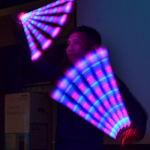 LED Glow Juggling by JimmyJuggler