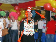Birthday Party Circus Juggler