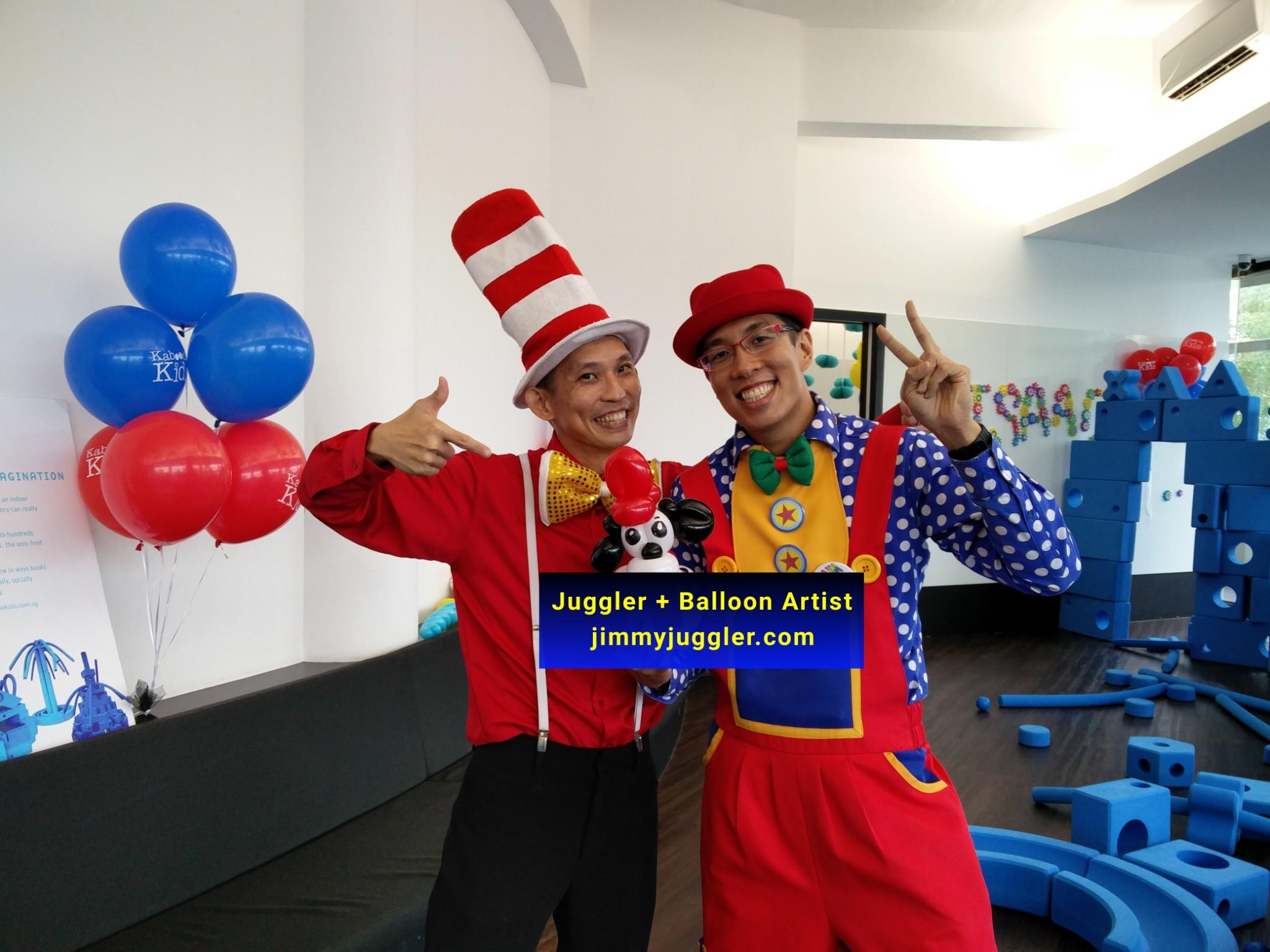 jimmyjuggler juggler balloon artist