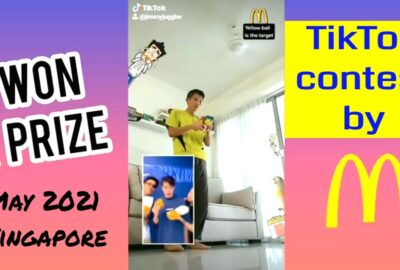 McDonald's TikTok video won prize